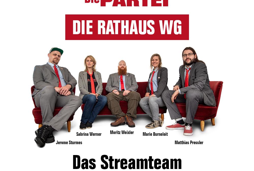 Die Rathaus WG im Neuland! Neue website online